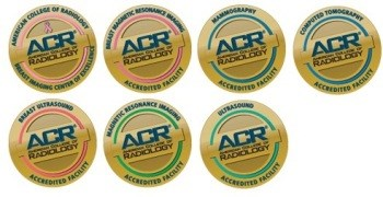 ACR accreditation badges